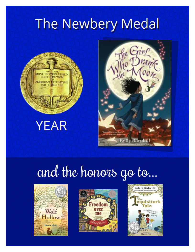 newbery 2018 titles