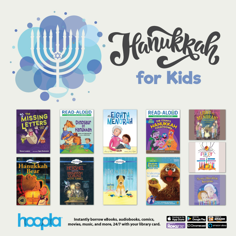 hoopla hanukkah for kids