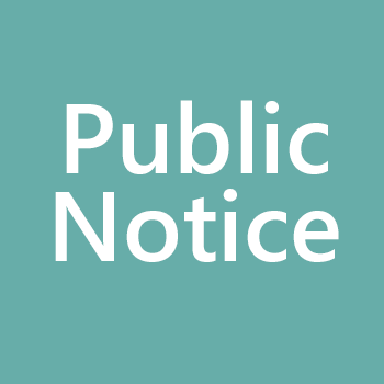 library board meeting public notice